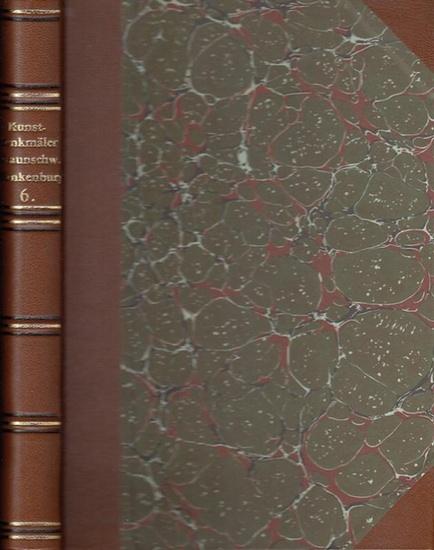 Blankenburg - Karl Steinacker (Bearb.) - P.J. Meier (Hrsg.): Die Bau- und Kunstdenkmäler des Kreises Blankenburg. (= Die Bau- und Kunstdenkmäler des Landes Braunschweig. Sechster (6.) Band).