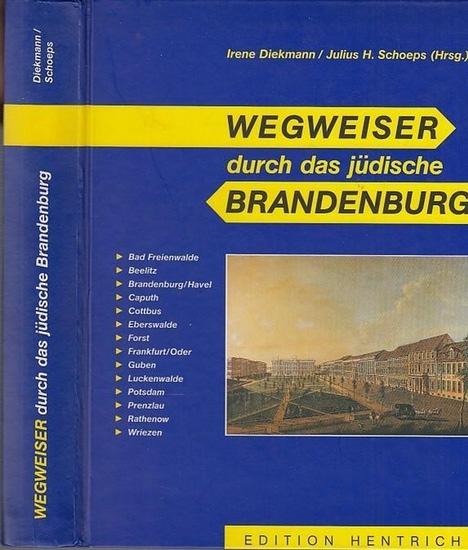 Hrsg. Irene Diekmann / Julius H. Schoeps. Wegweiser durch das jüdische Brandenburg. Geleitwort von Dr. Manfred Stolpe (Ministerpräsident d.Landes Brandenburg ) .