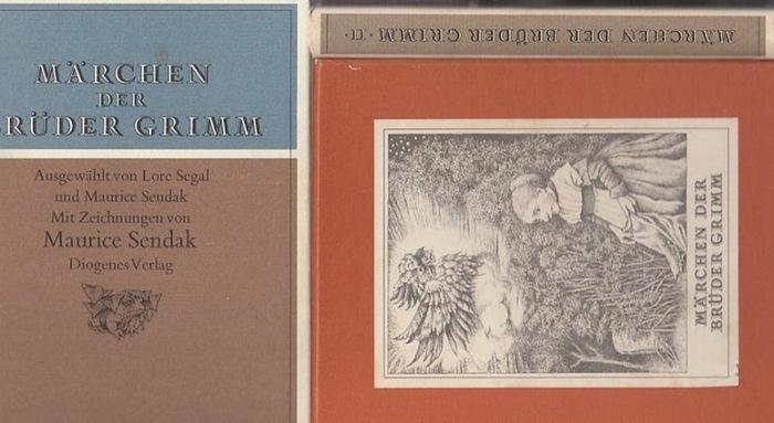 Grimm.- Maurice Sendak (Illustr.): Märchen der Brüder Grimm in zwei Bänden. Ausgewählt von Lore Segal und Maurice Sendak. Mit Zeichnungen von Maurice Sendak. 2 Bände komplett im Schuber.
