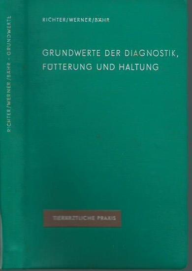 Richter, Wolfgang / Eberhard Werner / Heinz Bähr: Grundwerte der Diagnostik, Fütterung und Haltung. (= Tierärztliche Praxis).