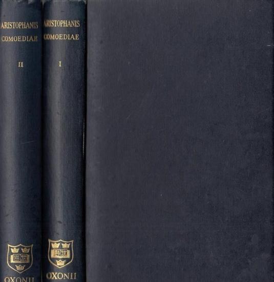 Aristophanis / F.W. Hall - W.M. Geldart: Aristophanis Comoediae - Recognoverunt brevique adnotatione critica instruxerunt. Tomus 1 et 2. 2 Bände