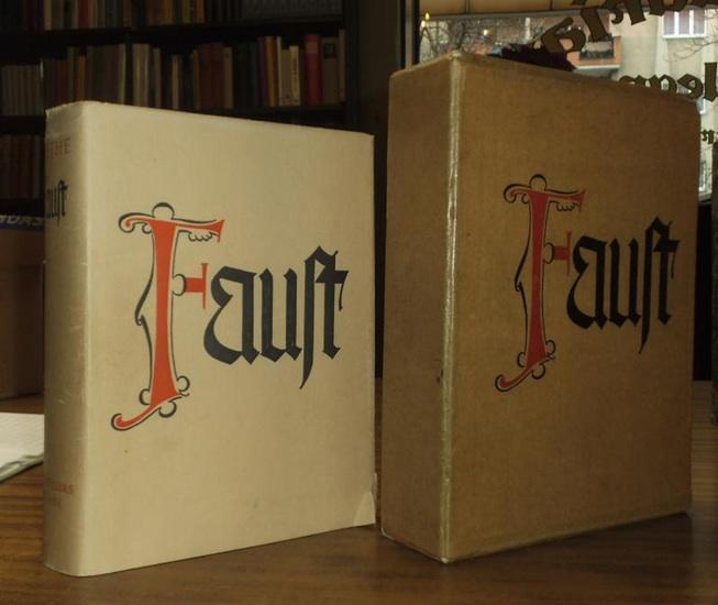 """Goethe, Johann Wolfgang von: Faust, (Hundertjahrs-Ausgabe) mit einer Einleitung """"Faust in der Kunst"""" von Max von Boehn"""