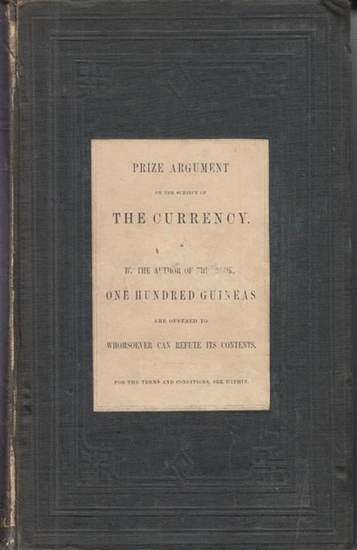 Gray, John: Lectures on the nature and use of money : Delivered before the Members of the Edinburgh Philosophical Institution during the months of February and March 1848.