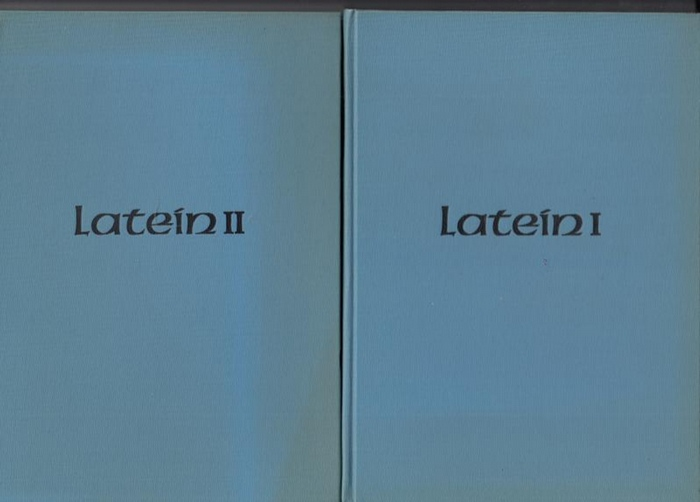 Lampe, Karl H.: Latein für den Sippenforscher. Teil I und Teil II in 2 Büchern (= Grundriss (Grundriß) der Genaologie Band 2 und 3).
