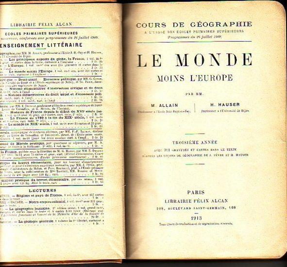 Allain, M. et H. Hauser: Le Monde moins l´Europe. (= Cours de Géographie).