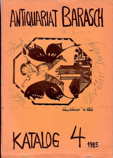 Barasch, Rüdiger: 3 Kataloge : Nr. 4, 5 und 7 mit 1454/2244/2161 Positionen.