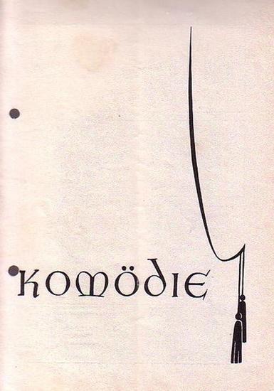 Berlin. - Komödie. - Theater am Kurfürstendamm. - Hans Wölffer (Direktion). - Noel Coward. - Unter uns Vieren. Spielzeit 1951 / 1952. Deutsche Bearbeitung: Curt Goetz. Insz.: Victor de Kowa, Bühnenbild: Prätorius (d. i. Curt Goetz). Mit u. a.: Victor d...