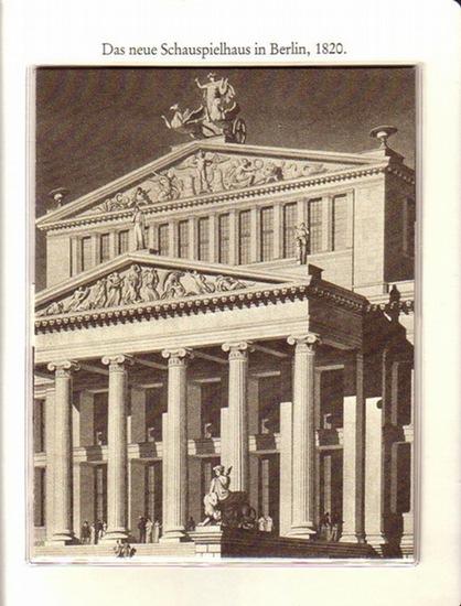 """BerlinArchiv herausgegeben von Hans-Werner Klünner und Helmut Börsch-Supan. - Berlin-Archiv (Hrsg.v. Hans-Werner Klünner und Helmut Börsch-Supan): Lieferung BE 01010 """"Das neue Schauspielhaus in Berlin, 1820. Aquatintaradierung von Friedrich Jügel ..."""