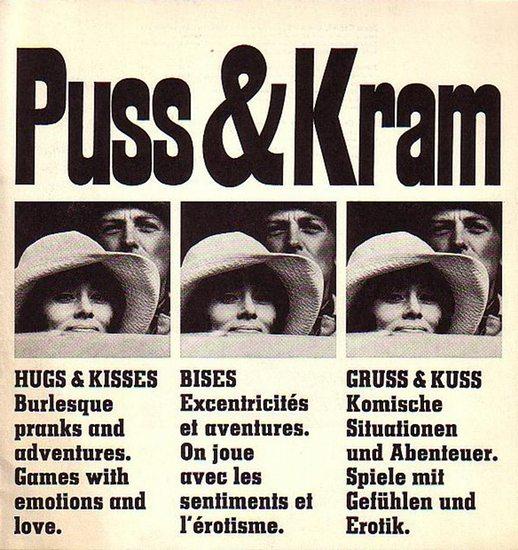 Cornell, Jonas: Programmheft zu dem schwarz-weiß Film 'Puss & Kram' (Puss och Kram), 1967 in der Regie von Jonas Cornell mit Agneta Ekmanner, Lena Granhagen, Hakan Serner und Sven-Bertil Taube.
