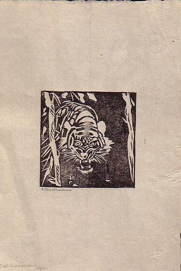 Bruchhausen, E. v. : Ohne Titel, abgebildet ist ein Tiger.