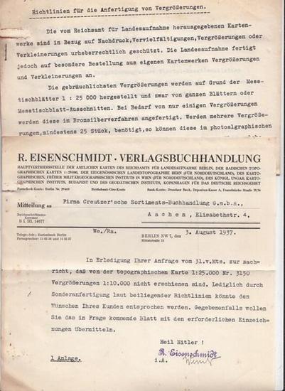 Eisenschmidt, R. Richtlinien für die Anfertigung von Vergrößerungen.