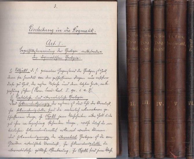 Esser, [Gerhard]: Dogmatik nach Professor Dr. Esser. 6 Bände