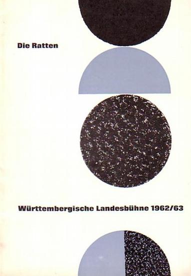 Esslingen - Würtembergische Landesbühne Schauspielhaus Esslingen - Leitung 1951 / 1952: Gottfried Haass-Berkow. Intendant 1962 / 1963: Wilhelm Listl-Diehl. Intendanz (Hrsg.), h. H.G. Hörburger (verantw. 1951), Urs Helmensdorfer (Red.1962): Programmheft...