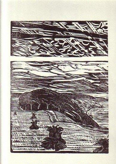 Heyn, Karl: Ohne Titel, abgebildet ist eine Steilküste.