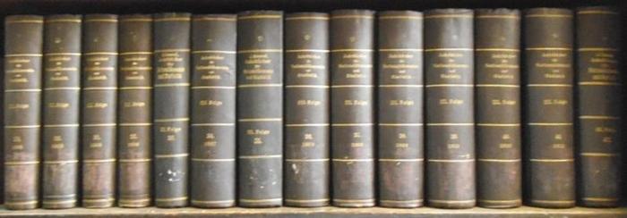 Hildebrand, Bruno (Gründer) / J. Conrad (Hrsg.) / Loening, Dr. Edg. / Lexis, W. / Waentig, H. (Mitarb.). - Blum / G. Brodnitz / G. Dyhrenfurth / B. Földes / Th. Ginger / Hassbach / Fr. Kleinwächter / H. Levy / M. Meiling / W. Stieda und andere (Autoren...