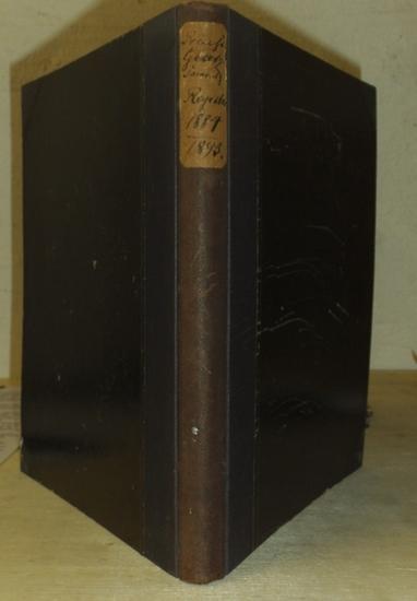 Hauptregister Gesetzsammlung Preußen: Haupt-Register zur Gesetz-Sammlung für die Königlichen Preußischen Staaten von 1884 - 1893.