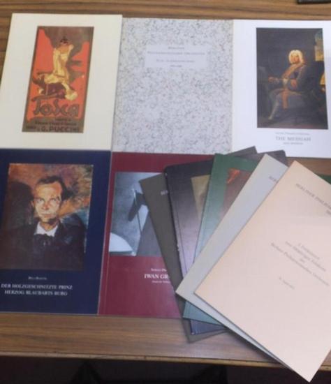 Philharmonie - Berliner Philharmonisches Orchester 1882 - 1982 : 10 Programmhefte zum 100jährigen Jubiläum des Orchesters.