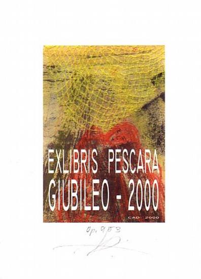 Schroth, Helga: Ex Libris von Pescara Giubileo - 2000.