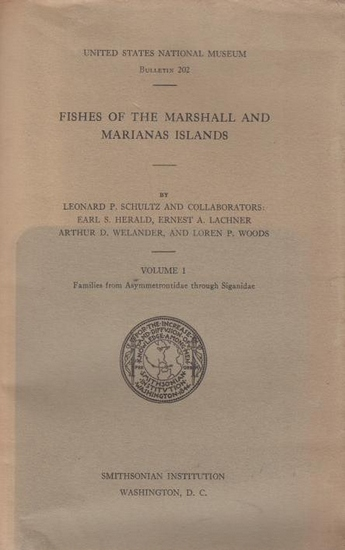 Schultz, Leonhard P . and collaborators: Fishes of the Marshall and Marianas Islands. Volume 1: Families from Asymmetrontidae through Siganidae. United States National Museum, Bulletin 202.