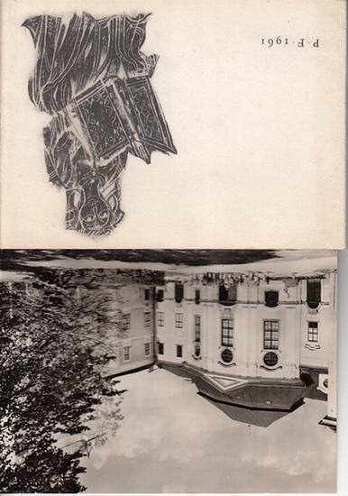 Zdar nad Sazavou. - Orbisverlag: Das Buchmuseum in Zdar nad Sazavou. Neujahrsgabe des Orbis - Verlages, Prag, 1960 / 1961.