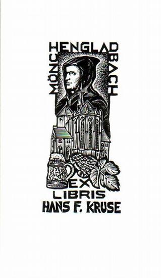 Sor, S.: Ex Libris von Hans F. Kruse.