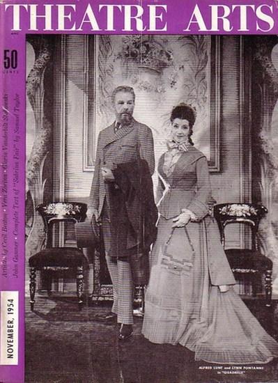 Theatre Arts combined with STAGE magazine - MacArthur (Ed.). - Samuel Taylor: Theatre Arts. Vol. XXXVLIII, No.11, November 1954. Contents the complete play by Samuel Taylor: Sbrina Fair.