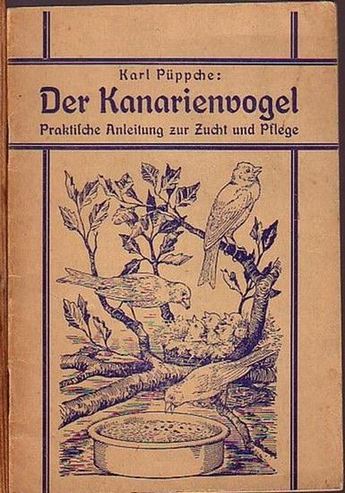 Püppche, Karl: Der Kanarienvogel. Praktische Anleitung zur Zucht und Pflege. Mit Vorworten.