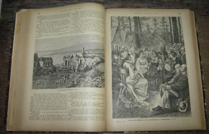 Illustrierte Chronik der Zeit. - Illustrirte Chronik der Zeit. Jahrbuch der Ereignisse. Blätter zur Unterhaltung. Jahrgang 1880. Hefte 1-26.