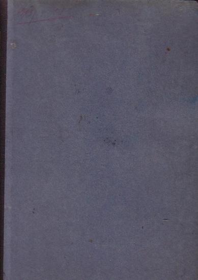 Mitteilungen des Vereins für die Geschichte Berlins - Brendicke, Hans (Hrsg.): Mitteilungen des Vereins für die Geschichte Berlins. 30. Jahrgang 1913. Komplett mit 12 Heften.