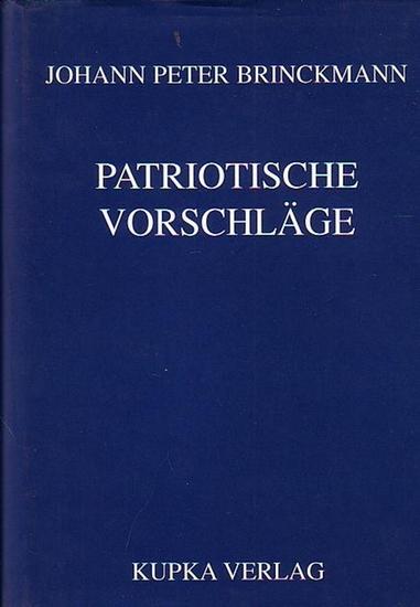 Labisch, Alfons (Hrsg.): Johann Peter Brinckmann - Patriotische Vorschläge zur Verbesserung der Medicinalanstalten haupsächlich der Wundarznei und Hebammenkunst auf dem platten Lande.