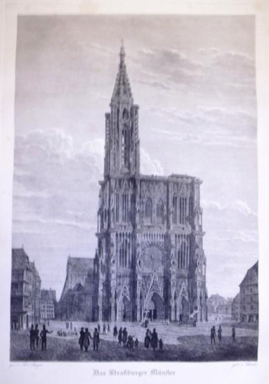 Bayer, A.v. (gez.) ; Schnell (gest.): Das Straßburger Münster.