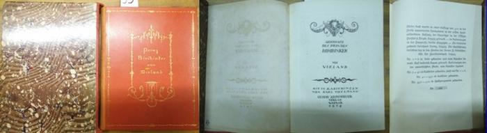 Wieland, Christoph Martin / Thylmann, Karl (Ill.): Geschichte des Prinzen Biribinker. Mit radiertem Titel und 10 Radierungen von Karl Thylmann.