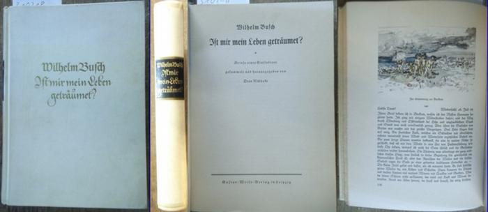 Busch, Wilhelm: Ist mir mein Leben geträumet? Briefe eines Einsiedlers gesammelt und herausgegeben von Otto Nöldeke.