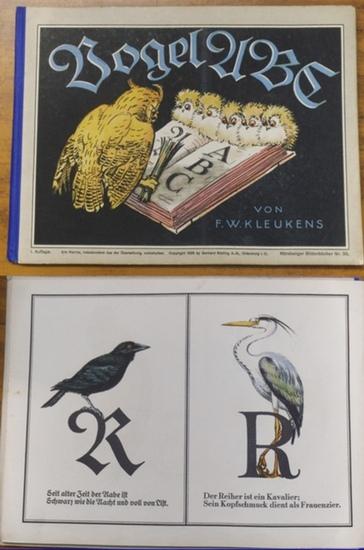 Kleukens, F. W.: Vogel ABC. (= Nürnberger Bilderbücher Nr. 39 ).