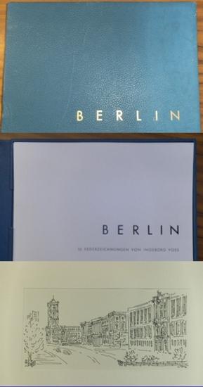 Voss, Ingeborg: Berlin. 10 Federzeichnungen von Ingeborg Voss.