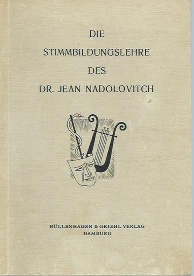 Baum, Günther (Herausgeber): Die Stimmbildungslehre des Dr. Jean Nadolovitch. Nach stenographierten Vorträgen herausgegeben und mit Geleitwort von Günther Baum.