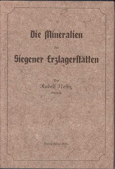 Nostiz, Rudolf: Die Mineralien der Siegener Erzlagerstätten.