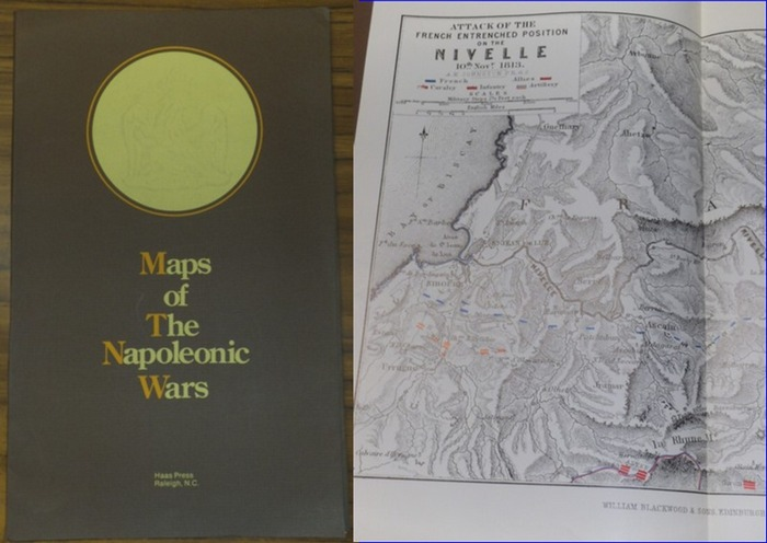 Maps. - Maps of the Napoleonic wars.