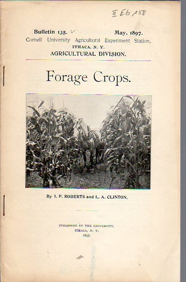 Roberts, I. P. / Clinton, L. A.: Forage Crops. (= Bulletin 135, May, 1897. Cornell University Agricultural Experiment Station, Ithaca N. Y., Agricultural Division).