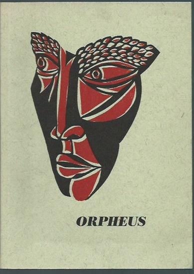 Möser, Fritz (Ill.) / Rüdiger, Kurt (Herausgeber) / Orpheus. Mit Linolschnitten von Fritz Möser.