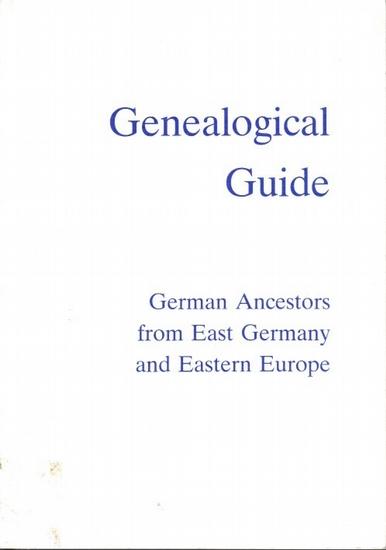 Arbeitsgemeinschaft ostdeutscher Familienforscher e.V. , Herne (Hrsg.): Genealogical Guide to German Ancestors from East Germany and Eastern Europe. (AGoFF-Wegweiser-English Edition, transl.by Joachim O.R. Nuthack and Adalbert Goertz).