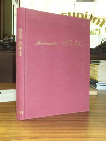 Clodt, Annette. - Gehrig, Werner: Annette Clodt (Monographie aus Anlass des 70. Geburtstages der Künstlerin). Text: Werner Gehrig.