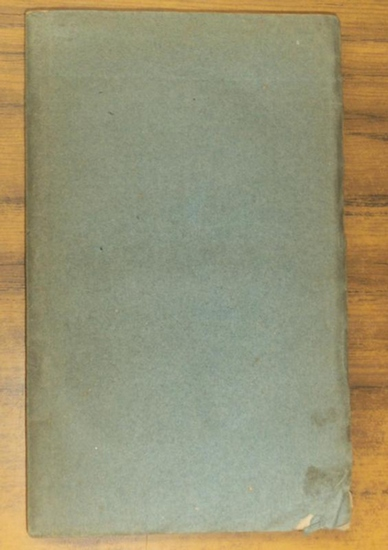 Becker, Wilhelm Gottlob Ernst Ueber die Flötzgebirge im südlichen Polen, besonders in Hinsicht auf Steinsalz und Soole. Mit einer geognostischen Charte.