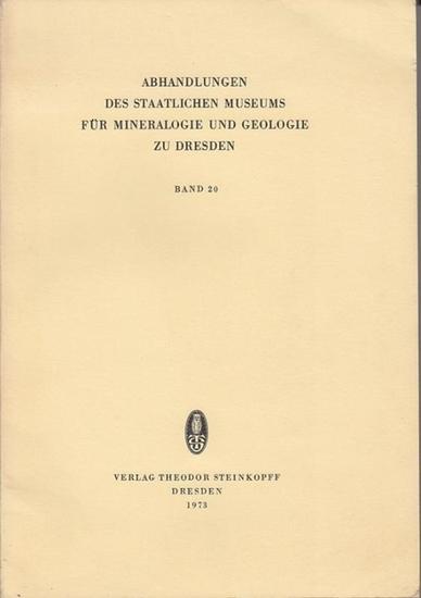 """Quellmalz, Werner - H. Prescher, H.-D. Beeger (Hrsg.): Mineralogische Untersuchungen zum Problem der """"Silberkiese"""". (=Abhandlungen des Staatlichen Museums für Mineralogie und Geologie zu Dresden ; Band 20)"""