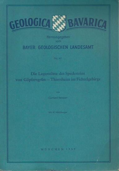 Stettner, Gerhard: Die Lagerstätten des Specksteins von Göpfersgrün - Thiersheim im Fichtelgebirge. (= Geologica Bavarica. Nr. 42. Herausgeber: Bayer. Geologische Landesamt).