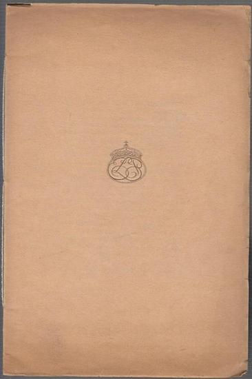 Ernst Ludwig Presse. - Die Grosstat der Letter. Druck der Ernst Ludwig Presse Darmstadt. Den Teilnehmern der Bibliophilen Tagung in Bremen am 28. September 1930 überreicht durch Ch. H. Kleukens.