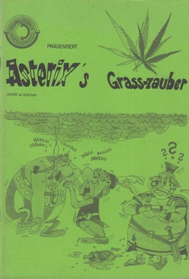 Asterix. - Uderco & Goscinny Asterix`s im Grass - zauber. (= Präsentiert Cosmo Comix Band 1 ).