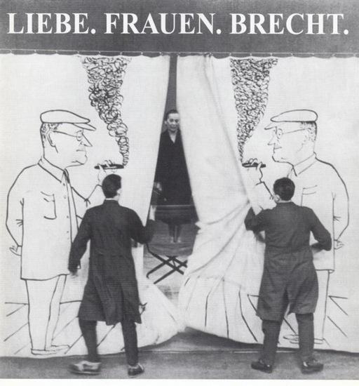 Theater an der Ruhr. - Liebe. Frauen. Brecht. Ein unzüchtiges Geburtsständchen von und mit Neuhäuser, Karin ( Gesang ). Flake, Matthias ( Klavier) und Posny, Gerd (Saxophon und Percussion). Spierlzeit 1997 / 1998.