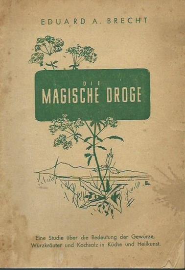 Brecht, Eduard A.: Die magische Droge. Eine Studie über die Bedeutung der Gewürze, Würzkräuter und Kochsalz in Küche und Heilkunst.
