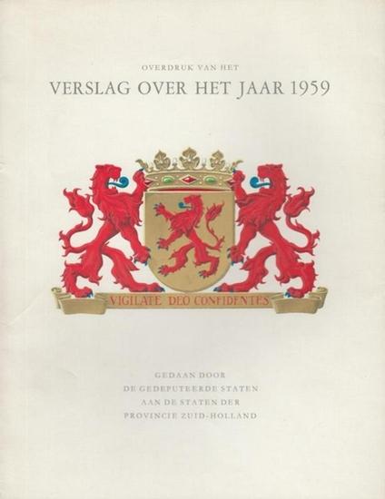 Gouw, J.L. van der: Overdruk van het Verslag over het Jaar 1959.